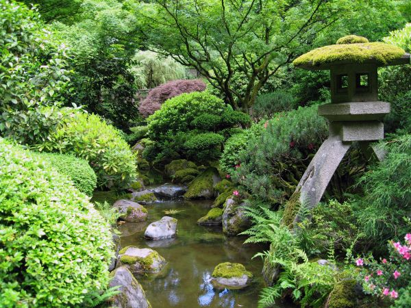 Portland_Japanese_garden_creek
