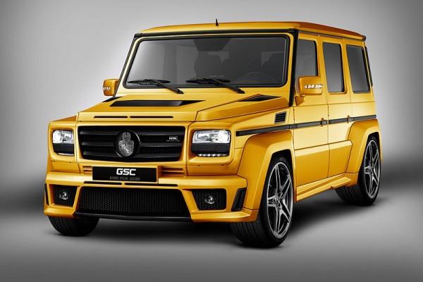 GSC Mercedes G-Wagen GoldStorm
