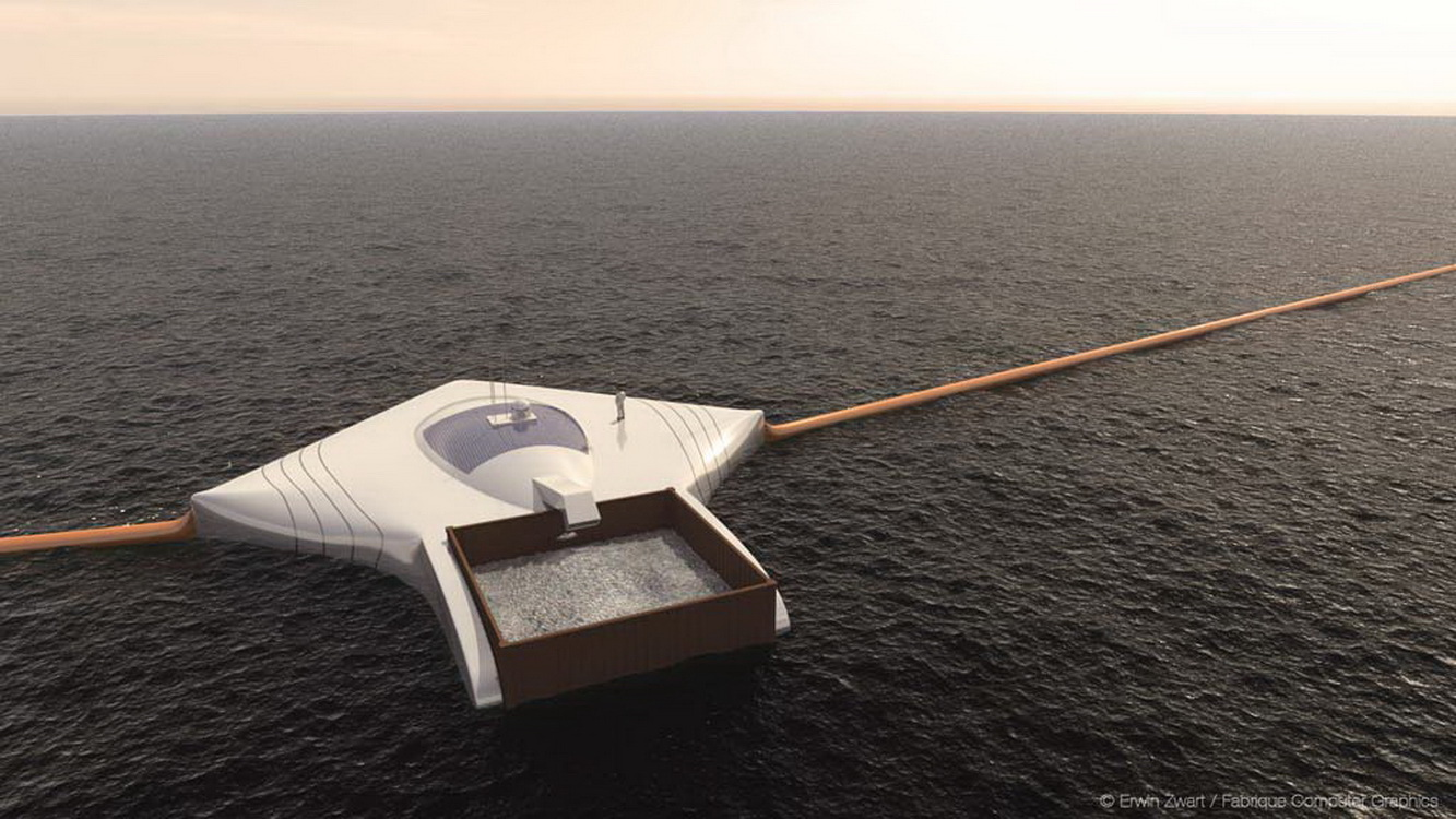 boyan slat ocean cleanup waste collecting rays2