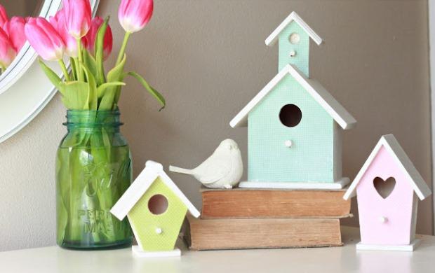 DIY Wooden Birdhouses 013