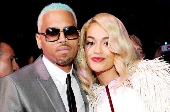 Chris Brown, Rita Ora