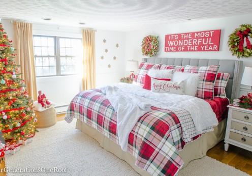 Plaid-Christmas-Bedroom-2016-15