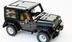 Az egyik leginkább terepjárónak nevezhető autó a Wrangler, melyet régóta gyártanak szinte változatlan formában. Az alkotó leszerelhető tetővel képzelte el a készletet.