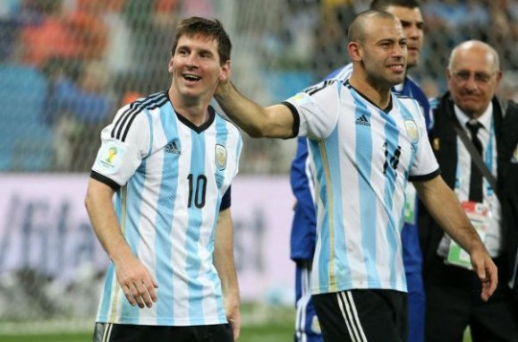 Messi és Mascherano