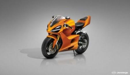 McLaren sports bike