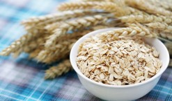 18888489 - bowl full of oats - healthy eating -food and drink