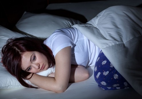 25324342 - woman cant sleep at the night because of her problems
