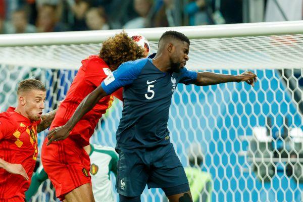 France v Belgium - Semi Final FIFA World Cup 2018